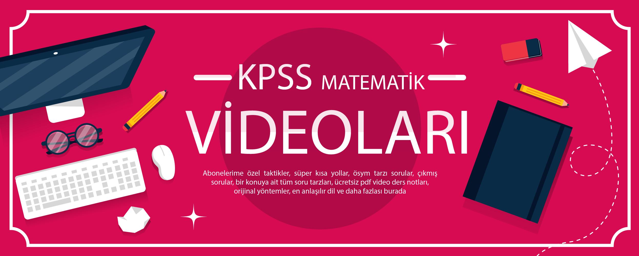 kpss matematik videoları konu anlatım soru çözüm